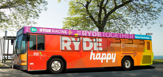 Racine Bus RYDE HAPPY