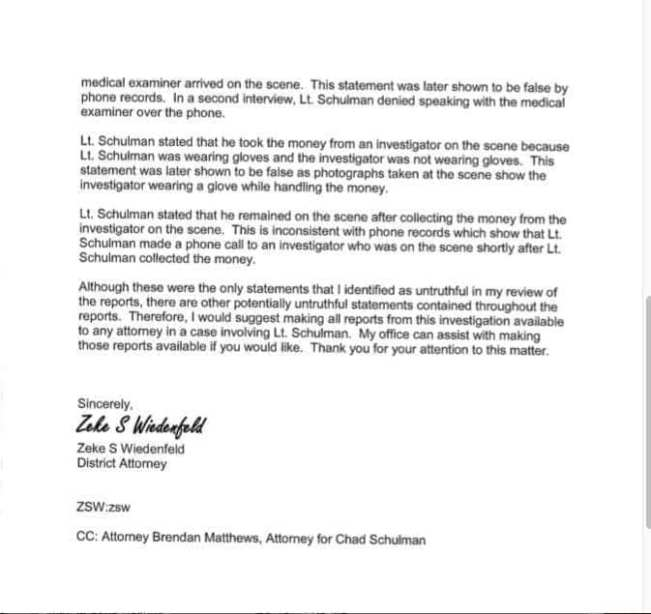 Hanson Walworth County Letter Page 2